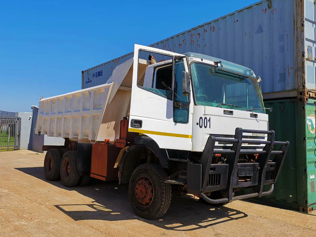 Construction Plant Training - LTM Solutions - Training & Remote Learning - Tipper-truck